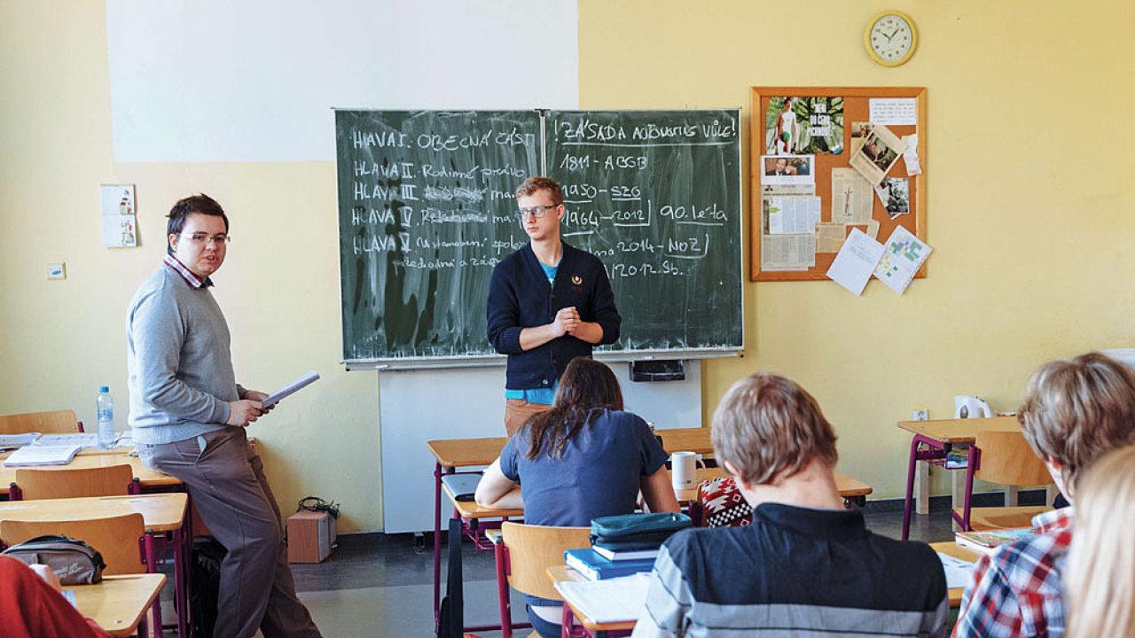 Výuka práva na středních školách, Gymnázium Jana Keplera