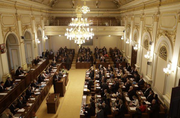Czech Republic's lawmakers start a Parliament session in Prague