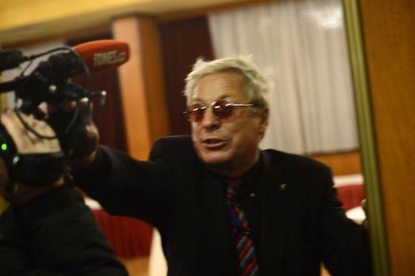 Atak na novináře ve volebním štábu Miloše Zemana