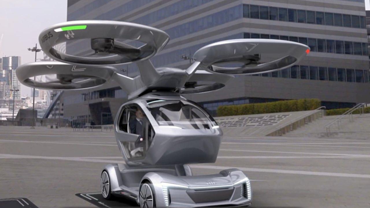 Revoluční dopravní prostředek. Společnosti Audi, Airbus a Italdesign spojily své síly.
