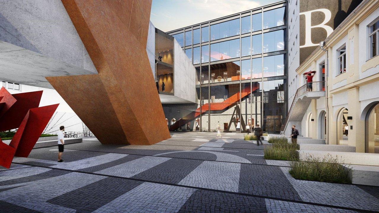 V pražské Hybernské ulici chce Praha ve spolupráci s Univerzitou Karlovou vybudovat moderní kampus