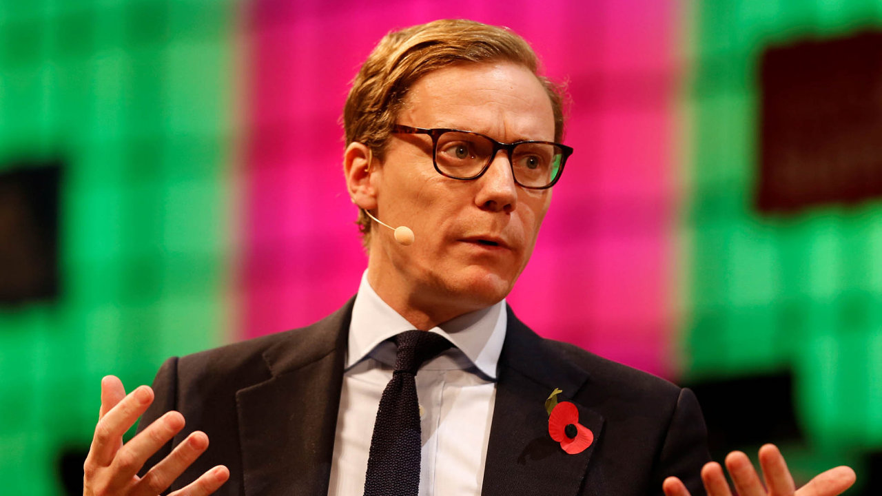 Šéf Cambridge Analytica Alexander Nix.
