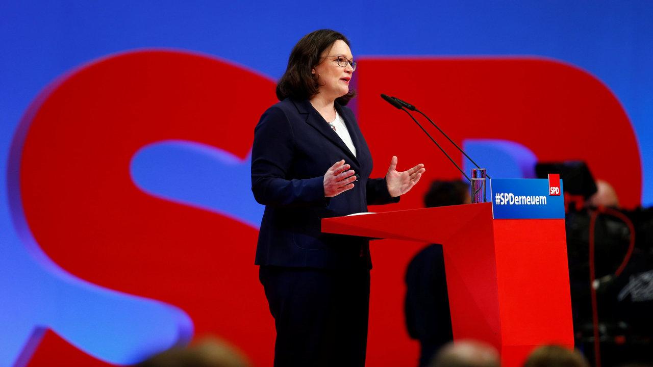 Andrea Nahlesová, SPD