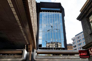 Mezi tři projekty, které HB Reavis prodává, patří komplex budov Transgas v centru Prahy.