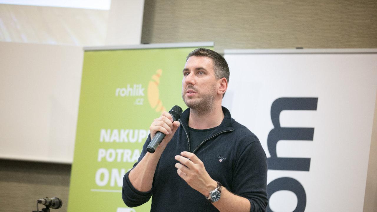Letos očekává většinový majitel Rohlik.cz Tomáš Čupr obrat 2,5 miliardy korun, příští rok plánuje dvojnásobek.