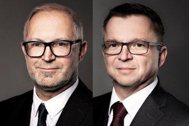 Jiří Boudník a Zdeněk Brancuzký, management společnosti Zeitgeist Asset Management