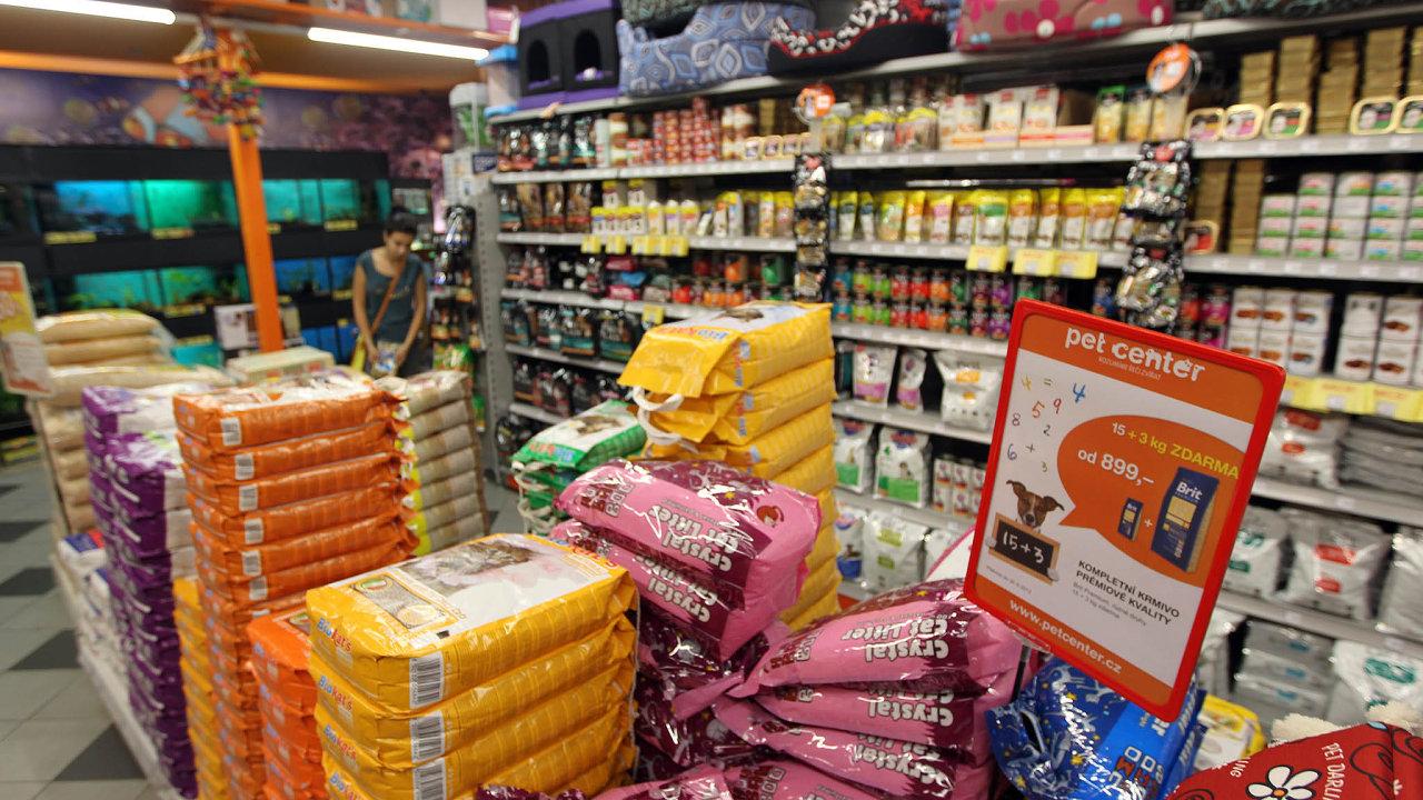 Síť Pet Center, která má své prodejny především vnákupních centrech, odsvého vzniku vroce 2000 neustále rostla.