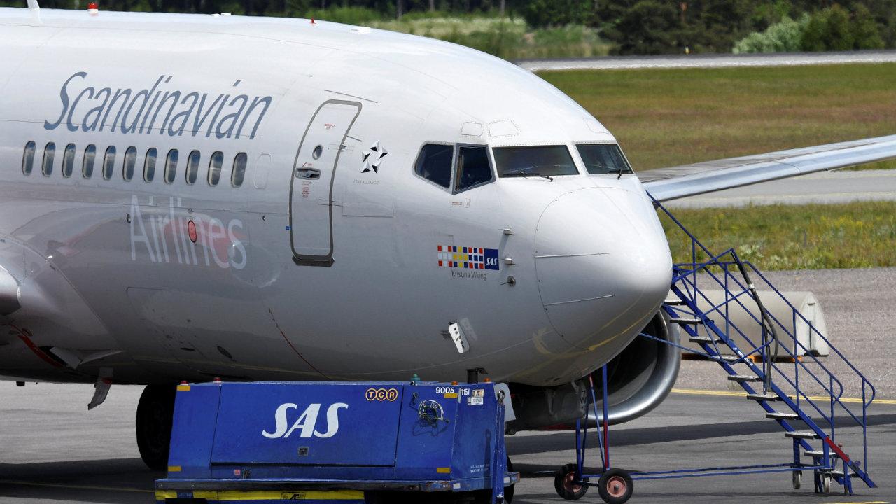 Švédko, stávka, aerolinie, SAS, Euro