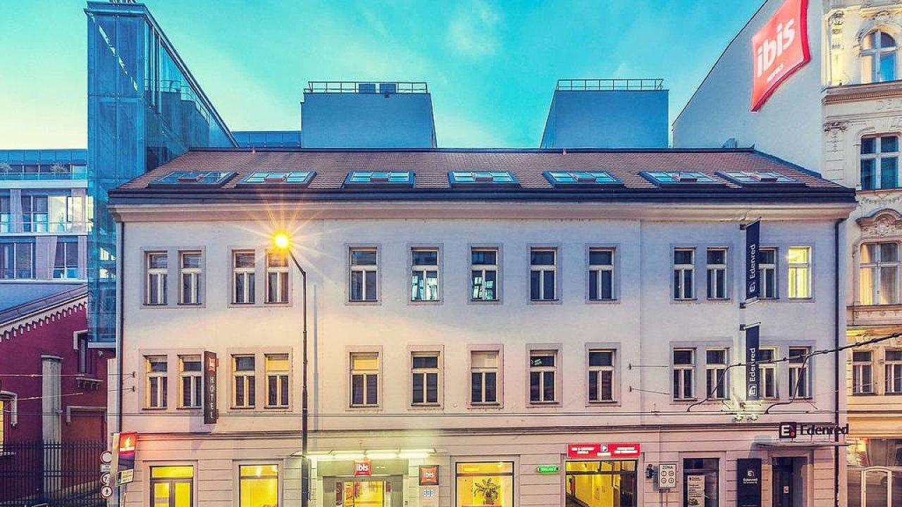 Hotel Ibis ve Starém městě pražském