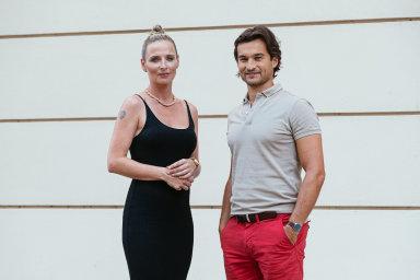 Šéfka akceleračního fondu v rámci Nation 1 Petra Končelíková a partner fondu Marek Moravec.