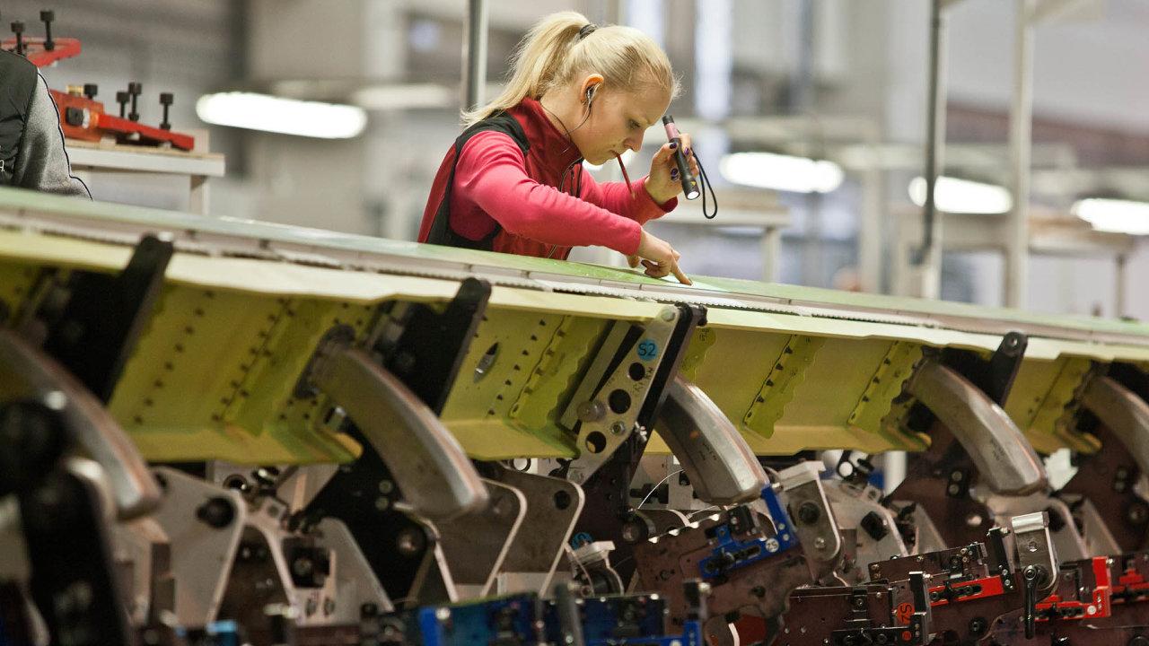 """Zahraniční investice do výroby tak """"citlivých"""" výrobků, jako jsou například letadla, budou jednoznačně pod kontrolou státu."""