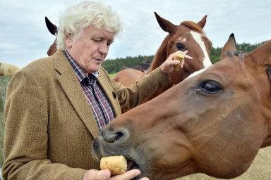 Miloš Zapletal zezážitkové Farmy Blaník je podle svých slov šťastný, že dotačnímu mámení dokázali srodinou odolat aprojekt zvládli vlastními silami.