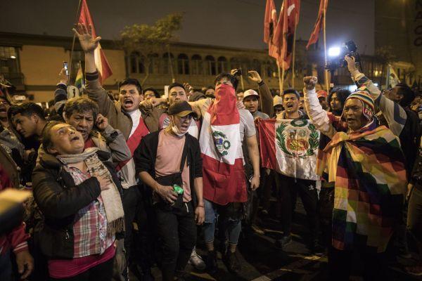 Protesty Peru
