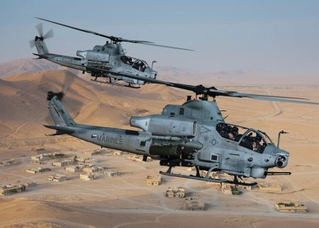 AH-1Z multiple aircraft 29 Palms