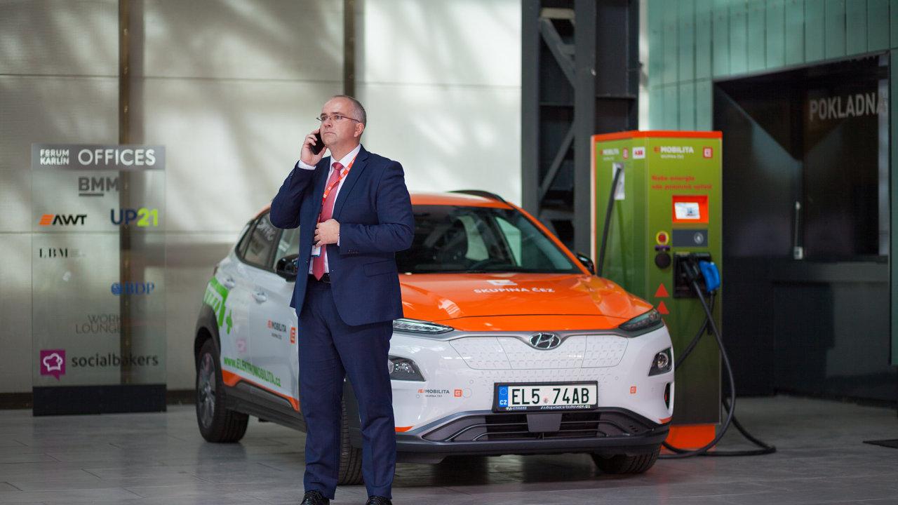 Elektromobilita, ČEZ, Forum Karlín