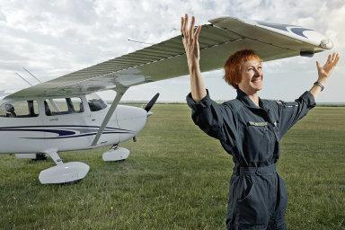 Pilotka Hana Babčanová