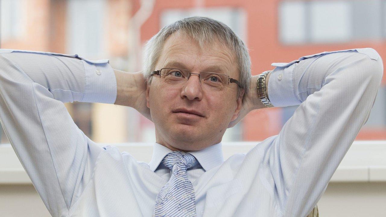 Jaroslav Míl, bývalý šéf Svazu průmyslu a dopravy