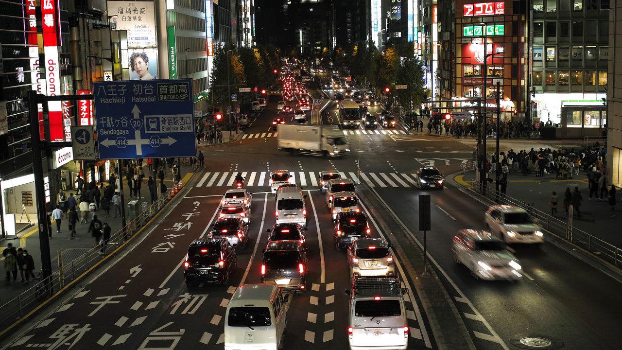 Japonská vláda Hondě udělila bezpečnostní osvědčení pro její autonomní technologii jízdy Traffic Jam Pilot (ilustrační snímek).