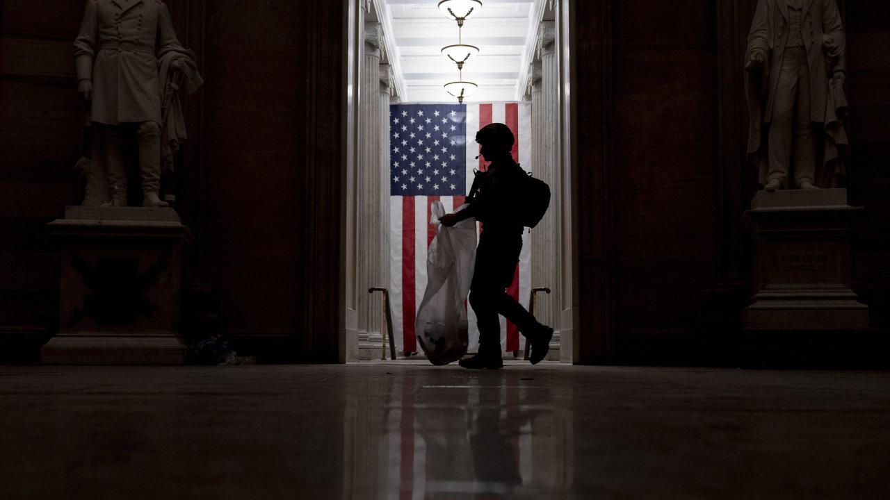 Kapitol USA protesty
