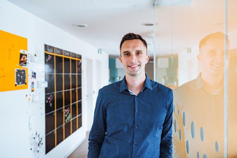 Michal Menšík, šéf start-upu DoDo