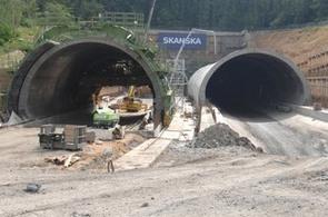 Stavba silničního okruhu kolem Prahy