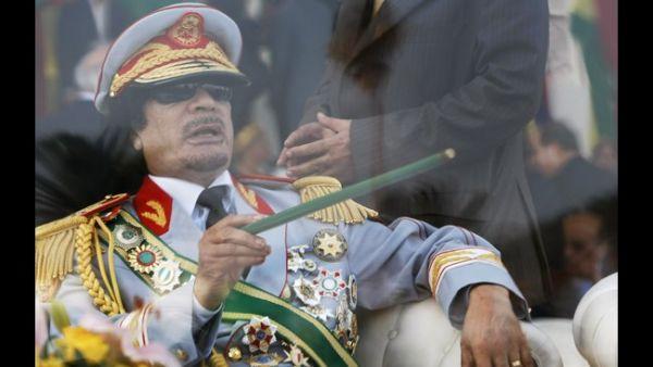 Plukovník Muammar Kaddáfí