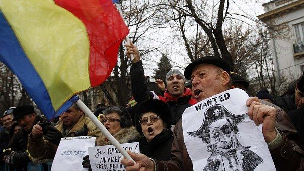 Protesty v Rumusnku