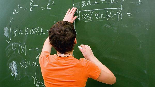 Ilustrační foto - výuka matematiky