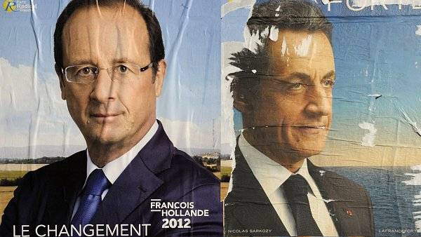 Kdo bude francouzským prezidentem? Hollande, nebo Sarkozy?