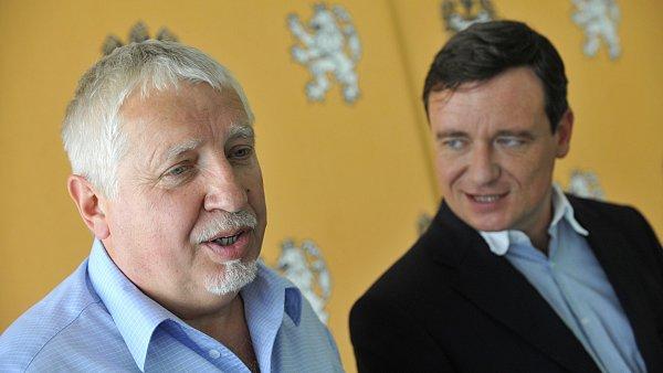 Zdeněk Seidl (vlevo) s Davidem Rathem