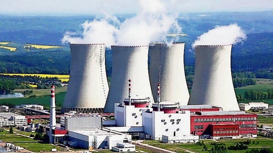 Aktualizovaná energetická koncepce počítá s dostavbou dvou nových bloků jaderné elektrárny Temelín