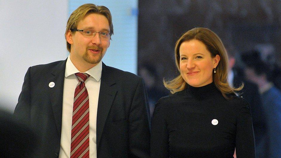 Karolína Peake a Pavel Dobeš