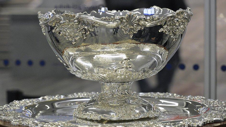 Salátová, nebo punčová? Tak jako tak mísa je teď díky domácímu finále Davis Cupu v Česku