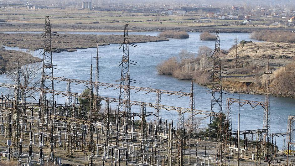 Albánská elektrárna. Ilustrační foto