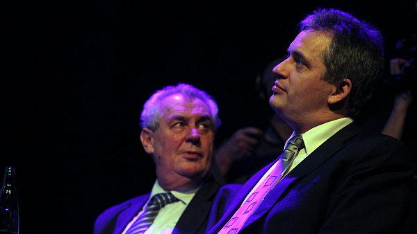 Miloš Zeman a Jiří Dientsbier