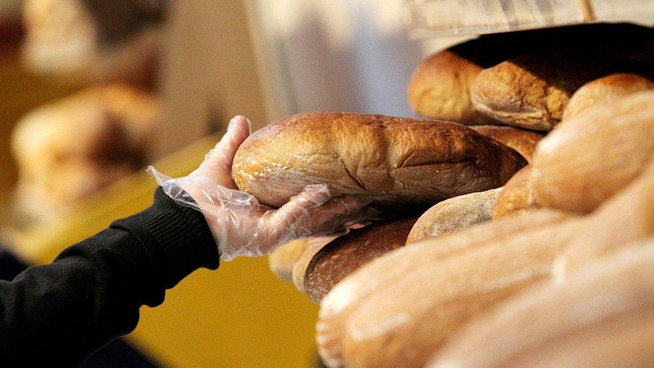 Český chléb v regále