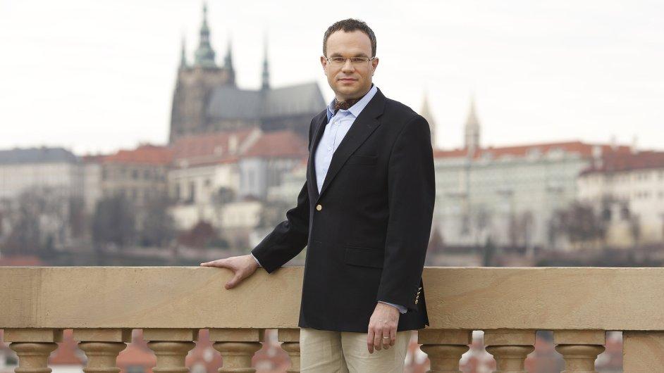 Generální ředitel České filharmonie David Mareček
