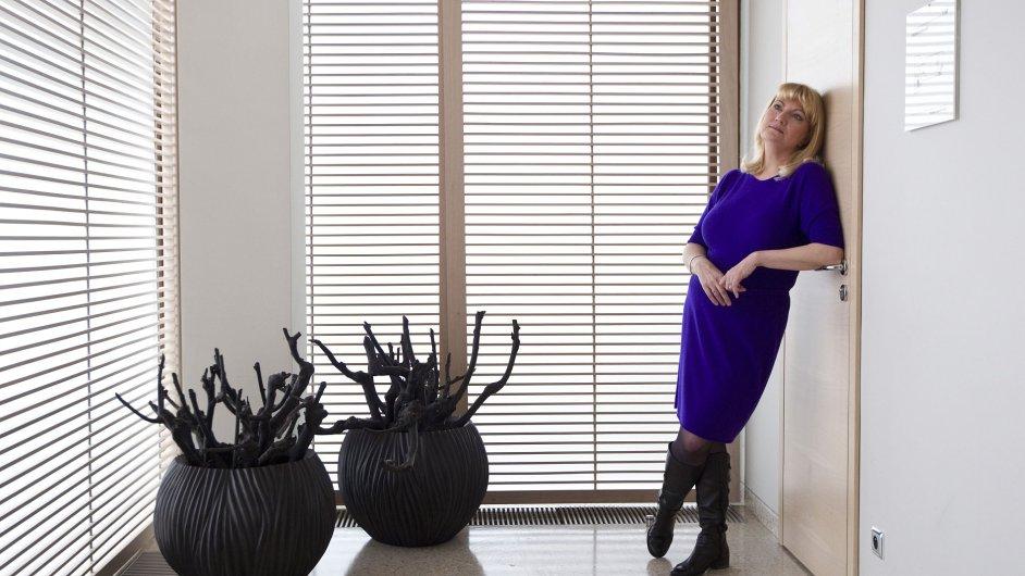 Simona Sokolová, generální ředitelka společností Olma a Profrost.
