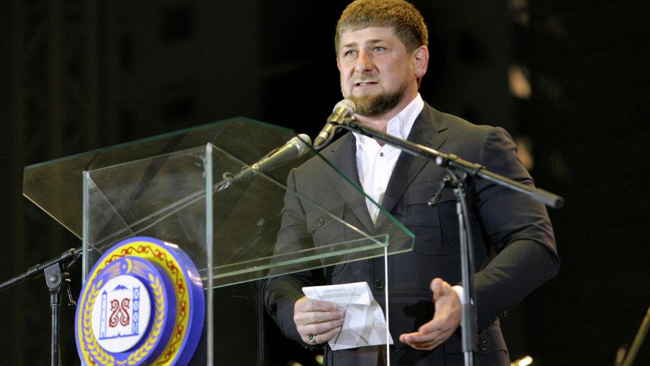 prezident Ramzan Kadyrov,oslava narozenin,Čečensko