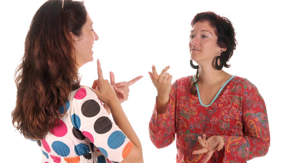 Neslyšící - Ilustrační foto