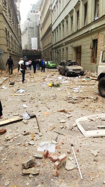 V�buch v Divadeln� ulici v Praze