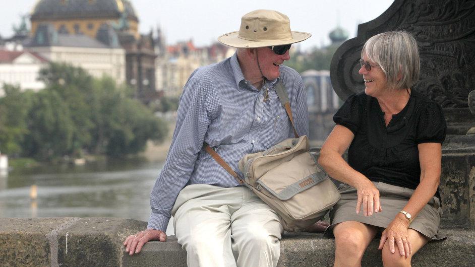 Prahu loni navštívilo téměř o čtyři procenta turistů více než v roce 2013.