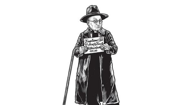 Korespondence Jakuba Demla (na kresbě) a Františka Bílka je rozdělena do dvou dílů.