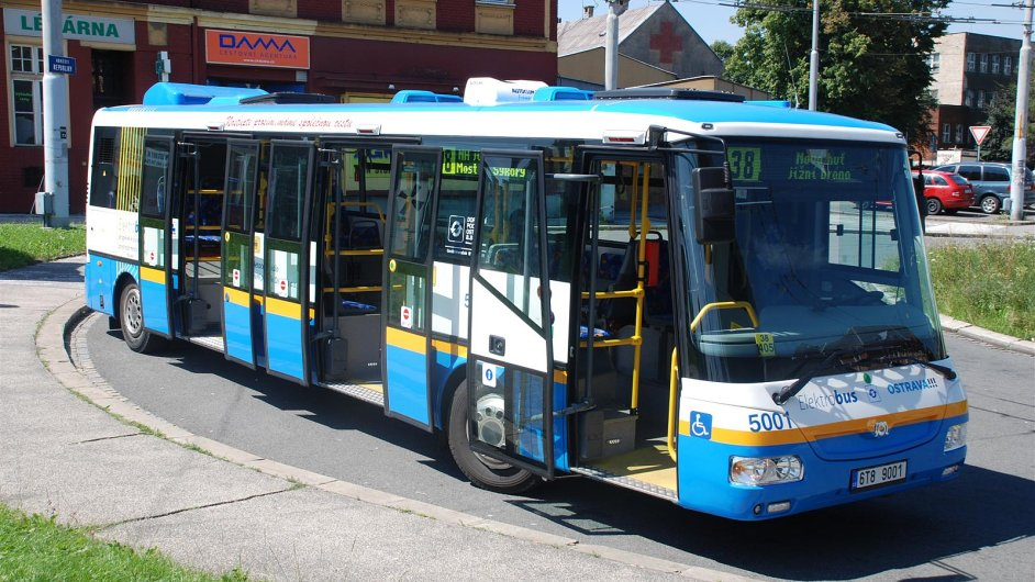 Elektrobusy již od roku 2010 využívá MHD v Ostravě