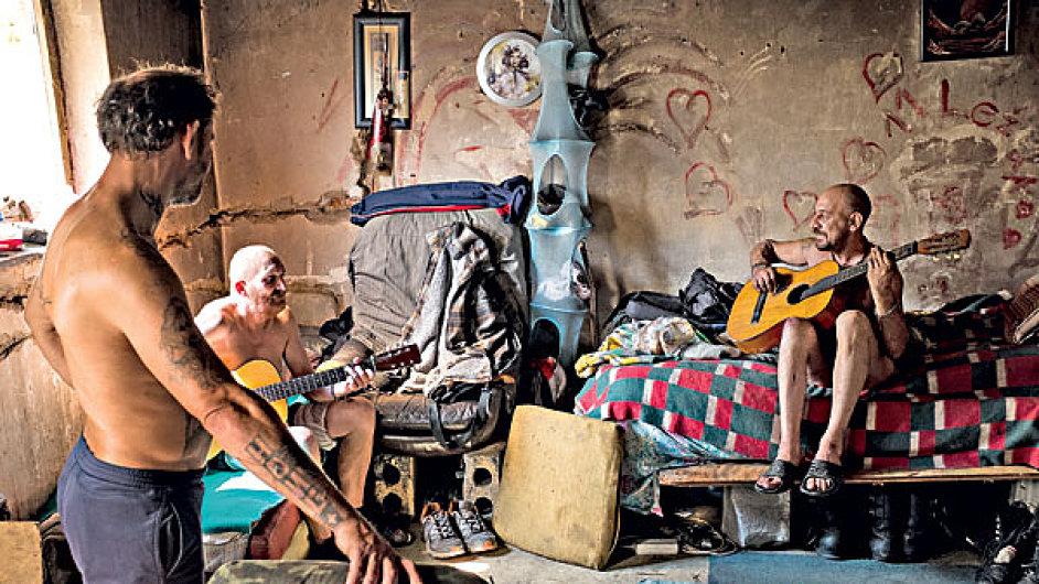 Bezdomovci, ilustrační fotografie.