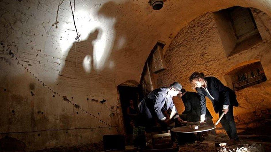 Divadlo Continuo nabízí Ve sklepě až švankmajerovské obrazy