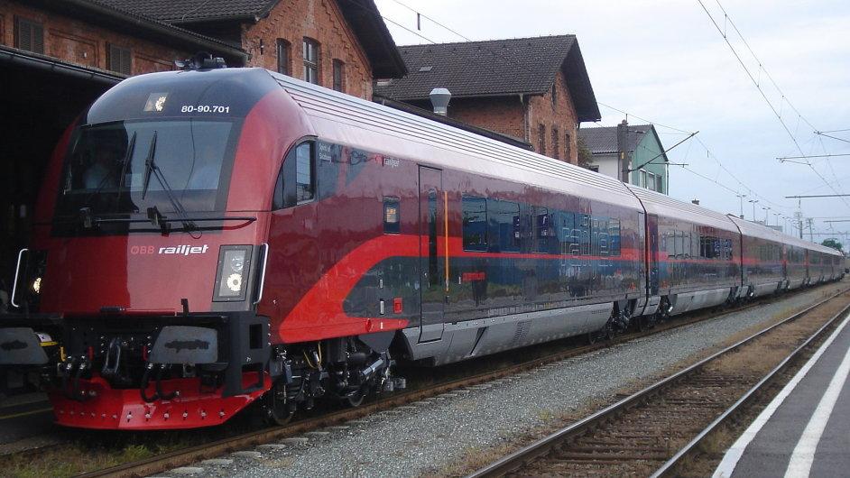 Rychlovlak Railjet