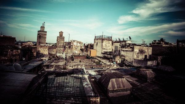 Marocké město Fes