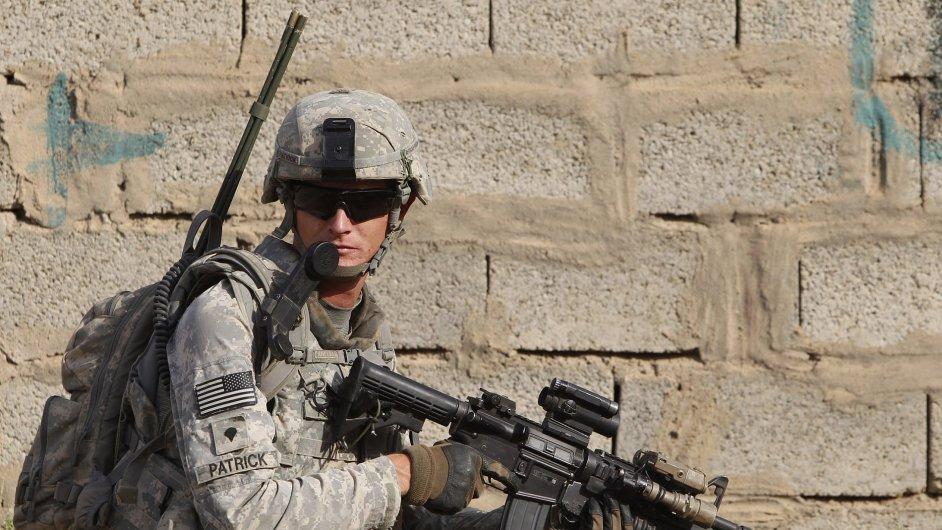 Ilustrační foto - voják US army