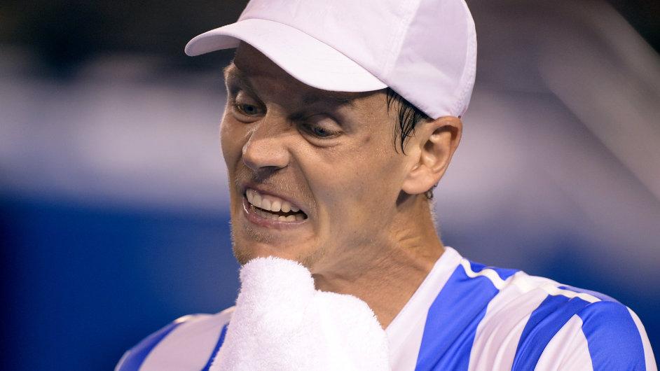Tomáš Berdych podlehl v semifinále Stanislasi Wawrinkovi